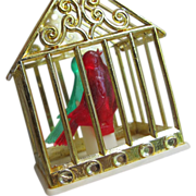Bird Cage Christmas Ornaments Light Cover - Set of 3