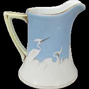 Vintage Japanese Heron Creamer