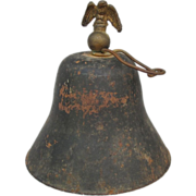 Primitive Bell w/ Eagle Finial
