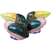 Colorful Pelican Salt and Pepper Set
