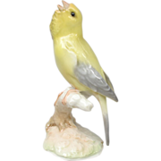 Hutschenreuther Singing Canary Figurine