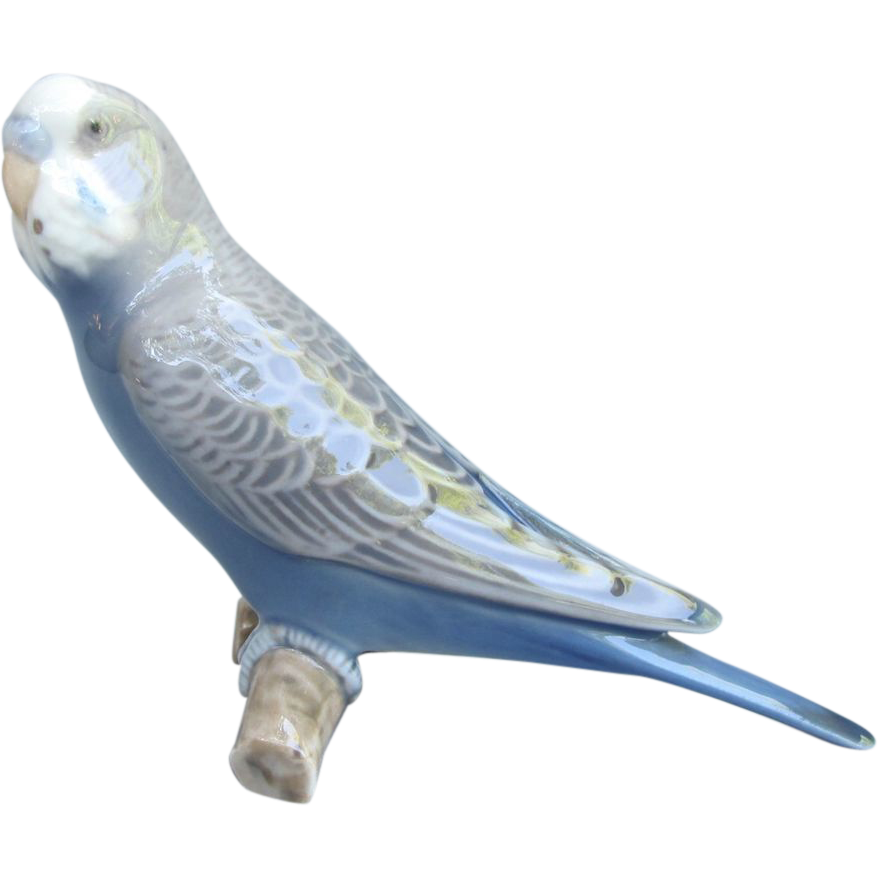 Bing and Grondahl Budgie Figurine