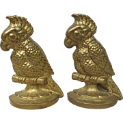 Cockatoo Parrot Bookends Doorstops