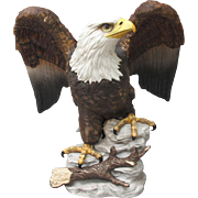 Limited Edition Stefani Bald Eagle Figurine Large