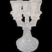 Hofbauer Byrdes Crystal Candelabra