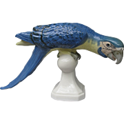 Royal Dux Macaw Parrot Figurine