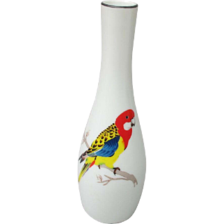 Eastern Rosella Vase from Japan