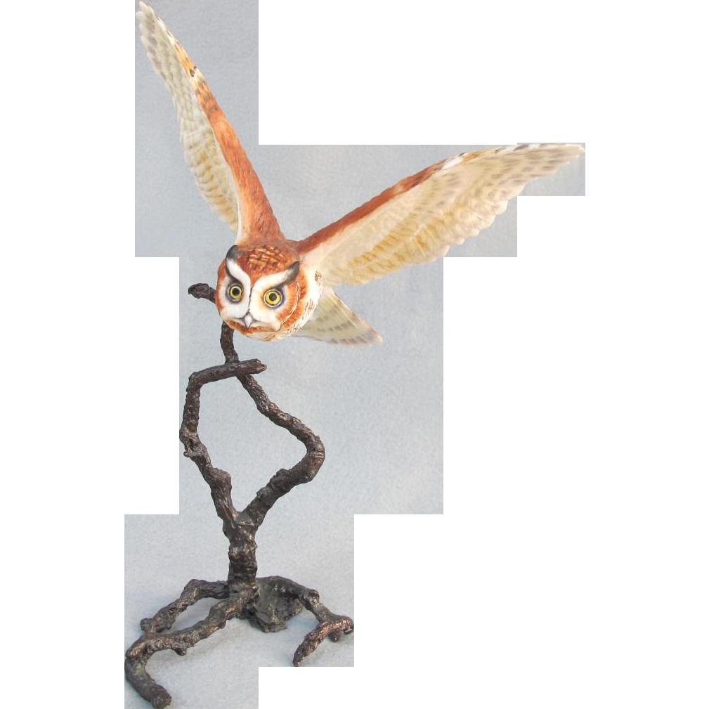 Royal Worcester Screech Owl