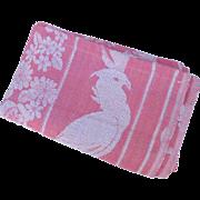 Mid Century Cockatoo Bedspread Reversible