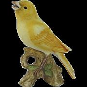 Lefton Canary Figurine