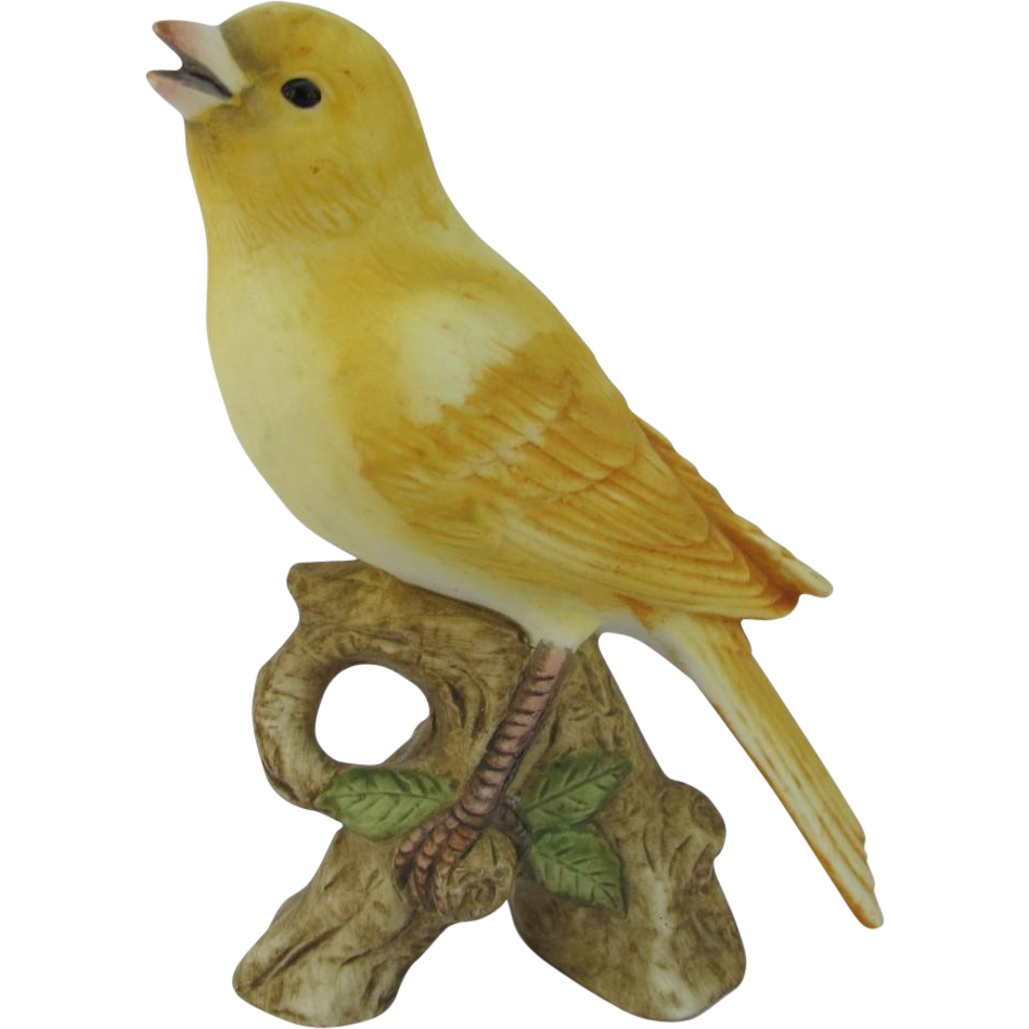 Lefton Canary Figurine