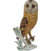 Large Goebel Germany Barn Owl Figurine