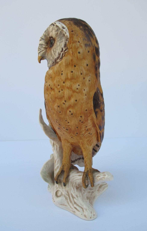 Large Goebel Germany Barn Owl Figurine From Antiquebeak On