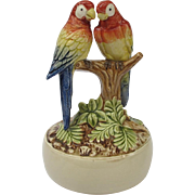 Double Macaw Music Box Stranger in Paradise