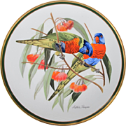 Audubon Rainbow Lorikeet Plate by Arthur Singer