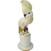 Vintage Art Deco Hutschenreuther Cockatoo Figurine Large