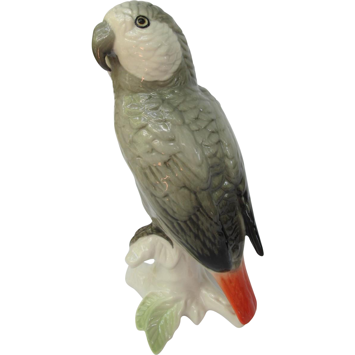 ENS Germany African Grey Parrot Figurine