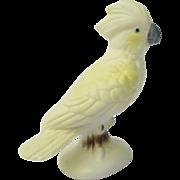 Vintage Miniature Cockatoo Figurine