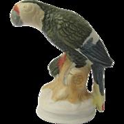 Miniature Parrot Figurine