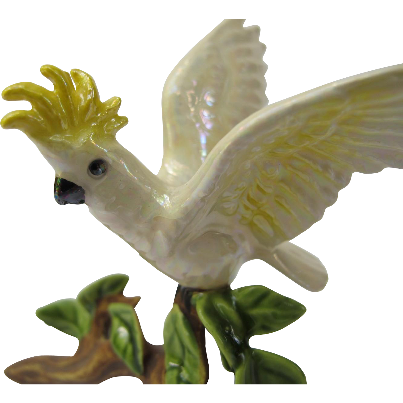 Hagen Renaker Miniature Specialty Cockatoo Figurine