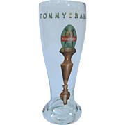 Tommy Bahama Macaw Pilsner Beer Glass