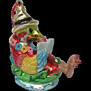 Tropical Parrot Christmas Ornament