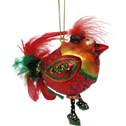 Kooky Tookie Bird Christmas Ornament