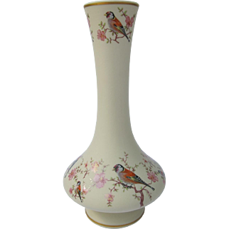 Vintage European Goldfinch Vase from Portugal