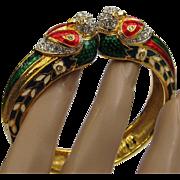 Nolan Miller Parrot Clamper Cuff Bracelet