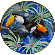 Wedgwood of England Toco Toucan Plate