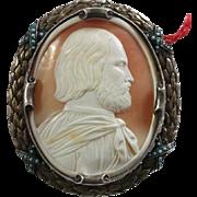 Wonderful Cameo of Giuseppe Garibaldi