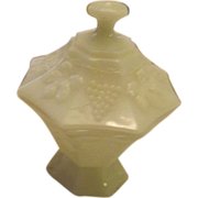 Anchor Hocking Candy Dish - Grapes pattern