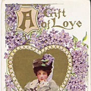 """""""A Gift of Love - Unsigned Philip Boileau - Postcard"""