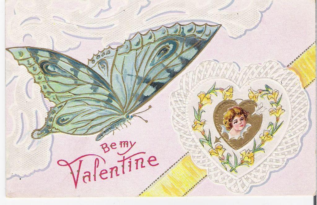 """Be My Valentine"" - Butterfly"