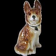 Vintage German Shepherd Dog Perfume Lamp