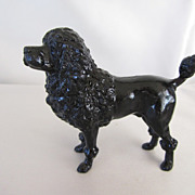 Handsome Metal Antique Male Poodle Dog
