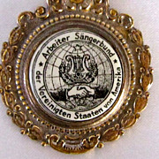 1932 Buffalo, NY German Saengerfest Medallion Pin