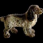 Vienna Bronze Cocker Spaniel Dog Miniature
