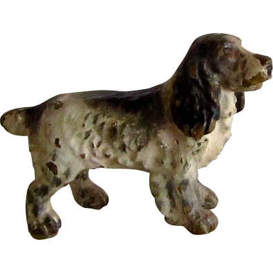 Vienna Bronze Cocker Spaniel Dog Miniature