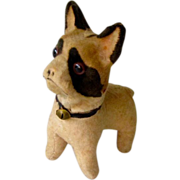 Antique Squeek Toy French Bulldog/Boston Terrier