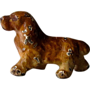 Miniature Iron Cocker Spaniel Dog Vintage