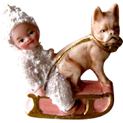 Sweet Miniature Snowbaby And French Bulldog Germany