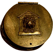 Wonderful Antique Coin Purse Cairn Terrier