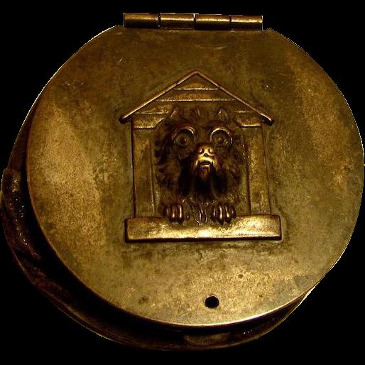 Wonderful Antique Coin Purse Cairn Terrier