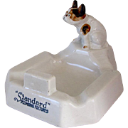 Antique Porcelain Advertising Standard Plumbing Bulldog