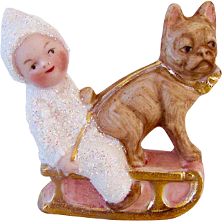 Sweetest Snowbaby With French Bulldog Germany