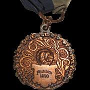 Antique Bulldog Club Of America Ribbon Medal