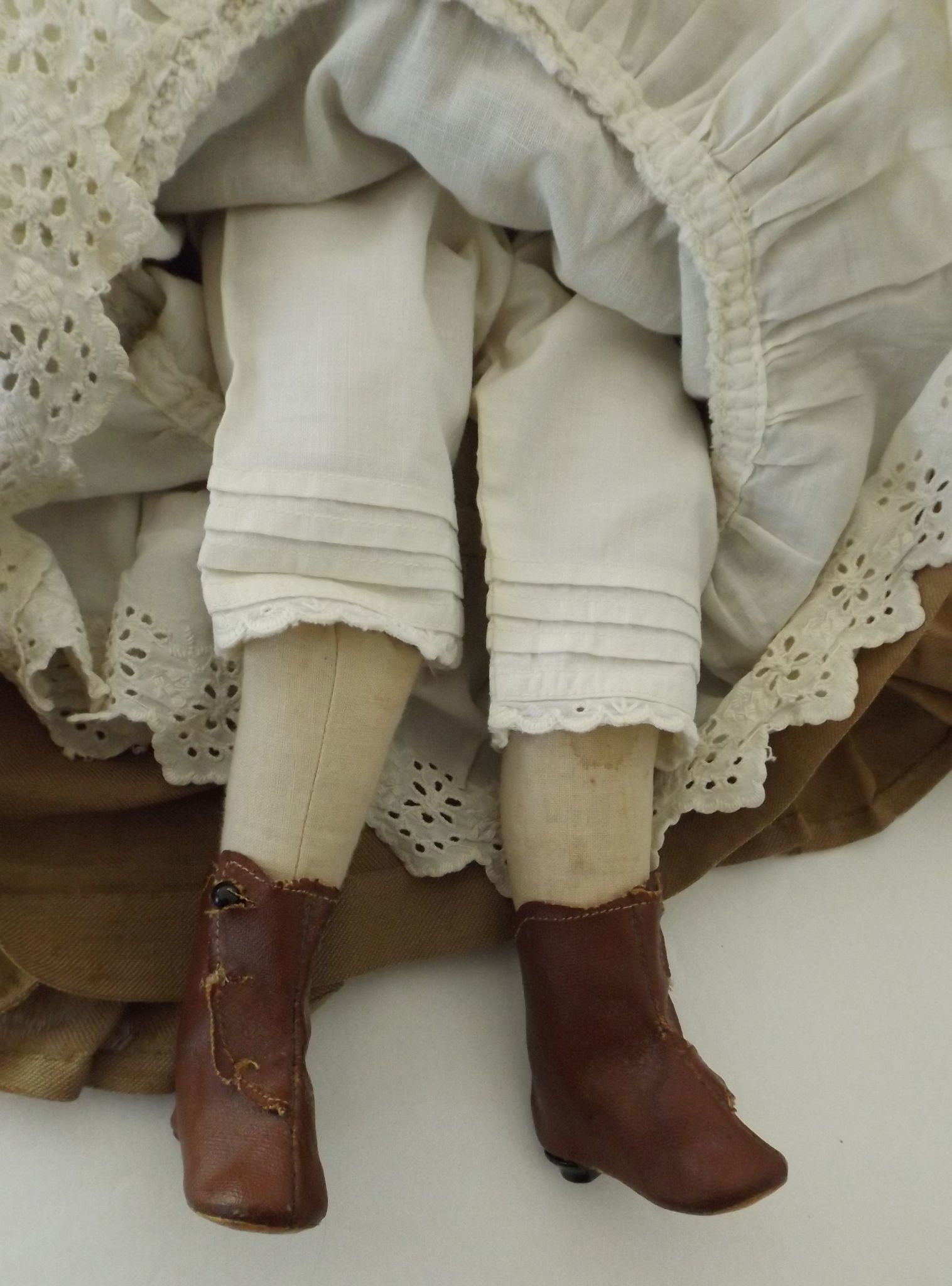 17 papier mache fashion doll antique clothes sold on ruby lane. Black Bedroom Furniture Sets. Home Design Ideas