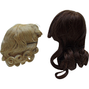 Human Hair Wig and Mohair wig