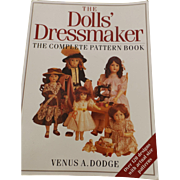 """Doll Clothes Pattern Book-- """"The Dolls' Dressmaker"""""""